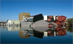 Groninger Museum - various architects, Red Deconstructionism by architecture firm Coop Himmelblau - one of my favorite buildings in the world