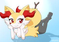 Braixen being a cutie~ by alfa995 | Pokémon | Know Your Meme