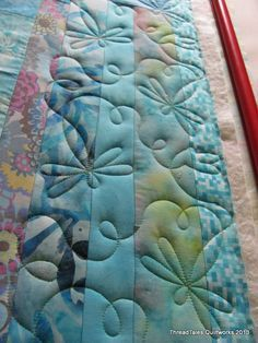 Off the machine soon… | Threadtales - The stuff of Life (and Quilts!)