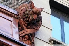 Unusual animal mixtures, or chimeras, did not act as rain spouts and are more properly called grotesques. They serve more as ornamentation, by shrilloutsider92773