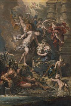 Peter Paul Rubens, Jean Baptiste Nattier, Gaspar Duchange - Narodenie Márie de Medici