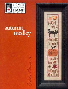 Autumn Medley - Heart In Hand Needlearts