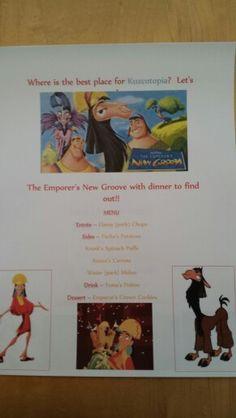 Disney Dinner Night #55 - The Emperor's New Groove