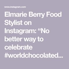 """Elmarie Berry Food Stylist on Instagram: """"No better way to celebrate #worldchocolateday as with sweet potato brownies-we are baking them as we speak 😋. I promise you won't be able…"""" Sweet Potato Brownies, Chocolate Day, I Promise You, I Foods, Berry, Have Fun, Stylists, Potatoes, Baking"""