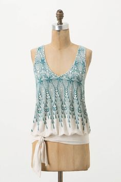 Tied-Hem Tank from Anthropologie - $58.00