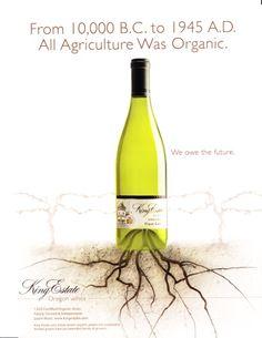 Wine ads found on the web.