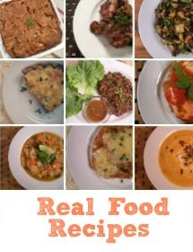 Real Food Whole Health, Real Food Nutritional Therapy, GAPS diet, Natural Fertility