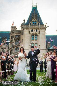 Our Wedding Biltmore Estate Front Lawn Ceremony Danny Gise Partywiththepous