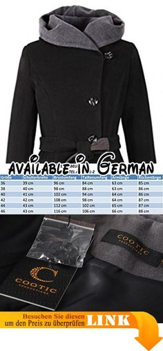 TOM TAILOR Denim Damen Jacke Padded Jacket Schwarz (Black 2999), 34 ... c5976ae553