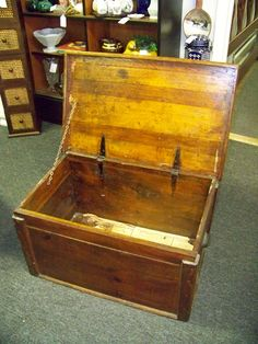 Antique Wooden Chest. Www.chconsignment.com · Wooden ChestSell AntiquesAntique  Furniture