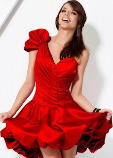 Vestidos Cortos 2012 para quinceañeras