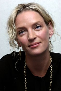 Uma Thurman. Always thought she had a unique beauty