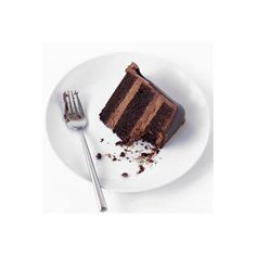 Chocolate Waterfall Cake ❤ liked on Polyvore featuring food and fillers