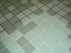 Spring cleaning recipe for grout 7 cups water, 1/2 cup baking soda, 1/3 cup lemon juice and 1/4 cup vinegar - throw in a spray bottle and spray your floor, let it sit for a minute or two... then scrub.