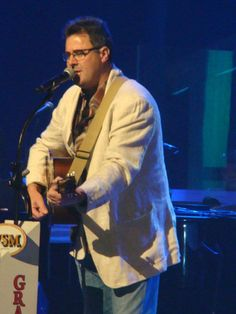 Vince Gill, taken while performing at the Grand Ole Opry on March 16, 2012