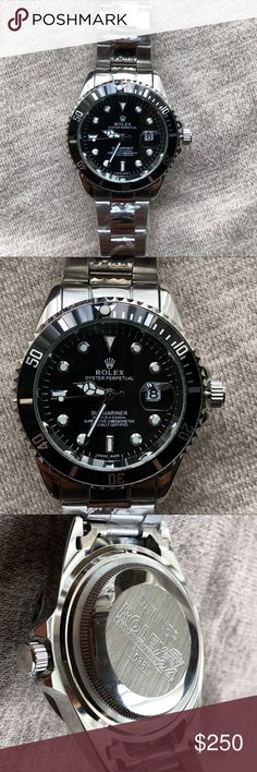 New Rolex Submariner Watch Brand New! Holiday sale 🎁🎉  1:1 Quality, Exactly Like Original   Quartz Movement  Same day shipping! 1-2 day arrival to you! Rolex Accessories Watches