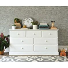 Burford Painted 3+4 Chest of Drawers (J303) with Free Delivery   The Cotswold Company - DKW56