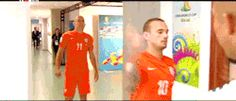 #arjen robben #wesley sneijder | Tumblr