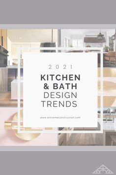 The Top 5 Design Trends in Kitchens and Baths. Read more to hear what to see and shop for in 2021. Kitchen And Bath Design, Baths, Design Trends, Kitchens, Shop, Free, Home Decor, Decoration Home, Room Decor