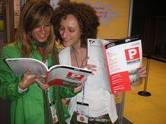 Sílvia Colás y Sílvia Redondo leyeron EPI en las Jornades Catalanes de Documentació de 2008