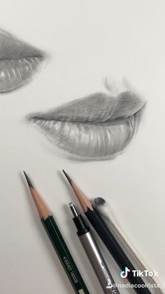 How I draw lips. Freehand drawing practice by Nadia Coolrista How I draw lips. Freehand drawing practice by Nadia Coolrista ,KARA Kalem ANATOMİ Find more tutorial videos at the link below and on my. Art Drawings Sketches Simple, Pencil Art Drawings, Realistic Drawings, Drawing Faces, Easy Drawings, Drawing Ideas, Pencil Sketching, Pencil Sketch Art, A Drawing