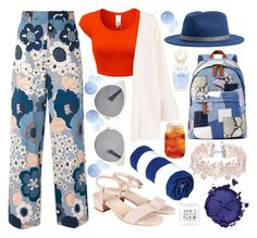A fashion look from August 2017 featuring mango tops, crew neck top and flower print pants. Browse and shop related looks. Mango Tops, Pat Mcgrath, Brixton, Printed Pants, Blue Orange, Christian Dior, Marc Jacobs, Fashion Looks, Colours