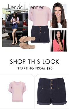 """""""El estilo de Kendall Jenner"""" by roseglam00 ❤ liked on Polyvore featuring Kendall + Kylie, Crumpet and T KEES"""