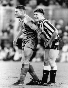 Vinnie Jones & Paul Gascoigne - I think we might need this poster for the new home!