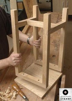 Learn how to make an Oak Stool Woodworking Techniques, Woodworking Projects Diy, Diy Wood Projects, Furniture Projects, Woodworking Plans, Wood Crafts, Woodworking Skills, Popular Woodworking, Furniture Design