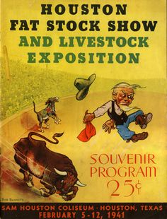 Houston Fat Stock Show and Livestock Exposition program, 1941