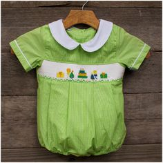 Birthday Green Gingham Bubble $32.99, FREE Shipping
