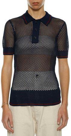 Etoile Isabel Marant 'drogo' Polo T-shirt