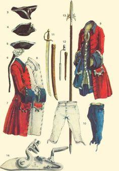 Bombardiers de la Marine Uniform