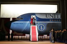 Nixon in China at the Metropolitan Opera. Production by Peter Sellars. Sets by Adrianne Lobel.