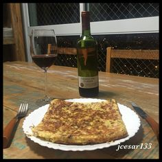Omelete em casa