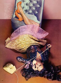 Sultry Lounging Spreads : Alessandra Ambrosio Vogue Nippon
