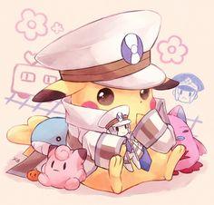Tags: Anime, Kabocha Torute, Pokémon, Pikachu, Pokémon (Cosplay), Kudari (Cosplay)