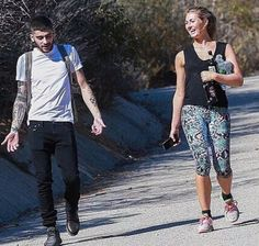 Zayn went on a hike today
