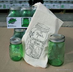 Green Ball Jar Giveaway from Fillmore Container! With recipes from Phickle, Food in Jars and Hip Girls!