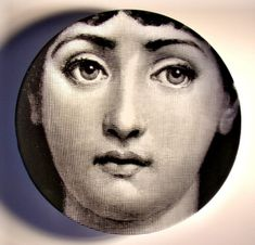 fornasetti plate # 1 tema e variazioni  I love these plates!!!! I want to whole collection!