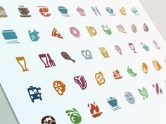 Evernote Food Cuisine Icons by Carlos Rocafort