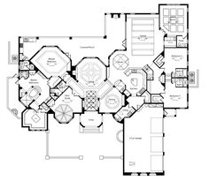 Buena Vista House Plan 6513 - 5 Bedrooms and 5.5 Baths | The House Designers