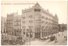 Calles Barcas y Pérez Pujol