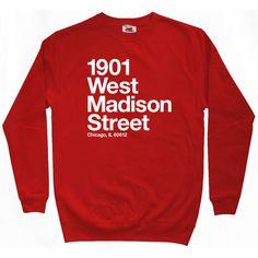 Chicago Basketball and Hockey Stadium Sweatshirt - Men S M L XL 2x 3x - Crewneck Chicago Shirt Sports - 4 Colors