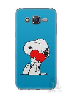 Capa Capinha Samsung J5 Snoopy #26 - SmartCases - Acessórios para celulares e tablets :)