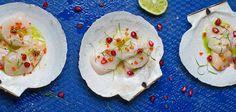 Learn to make scallops ceviche from Martin Morales Ceviche: Peruvian Kitchen
