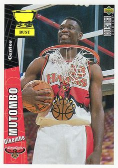 Dikembe Mutombo Dikembe Mutombo, Atlanta Hawks, Tank Man, Mens Tops