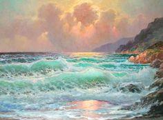 Powerful seascapes paintings by Alexander Dzigurski II