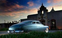 Laguna Blue Perfection – Bill Springer's Merc Classic Hot Rod, Classic Cars, Dodge, Trick Riding, Mercury Cars, Lead Sled, Automotive Photography, Sweet Cars, Us Cars