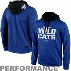 Nike Kentucky Wildcats KO Performance Hoodie - Royal Blue